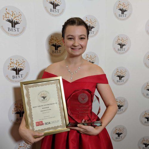 Best young entrepreneur award